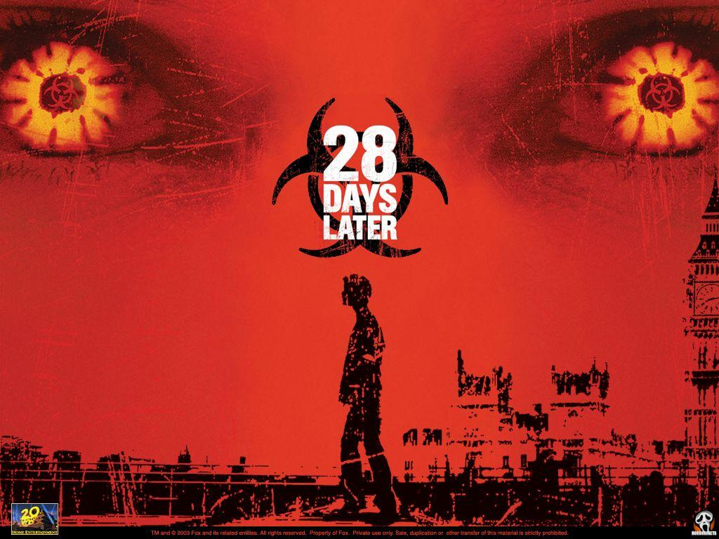28 days later legendary horror movie about pandemic virus