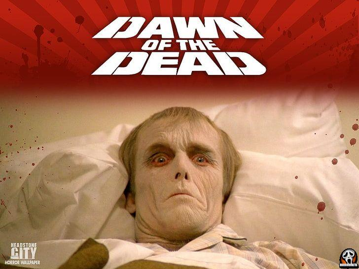 Roger getting sick with zombie virus in dawn of the dead a George Romero film