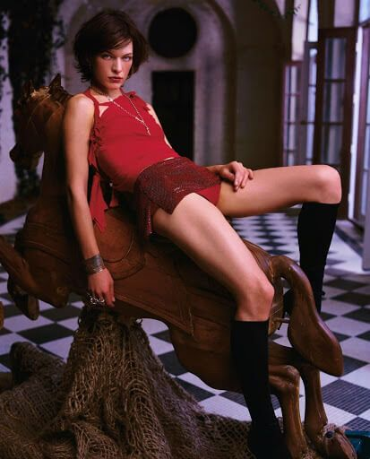 Mila Jovovich Resident Evil Sexy