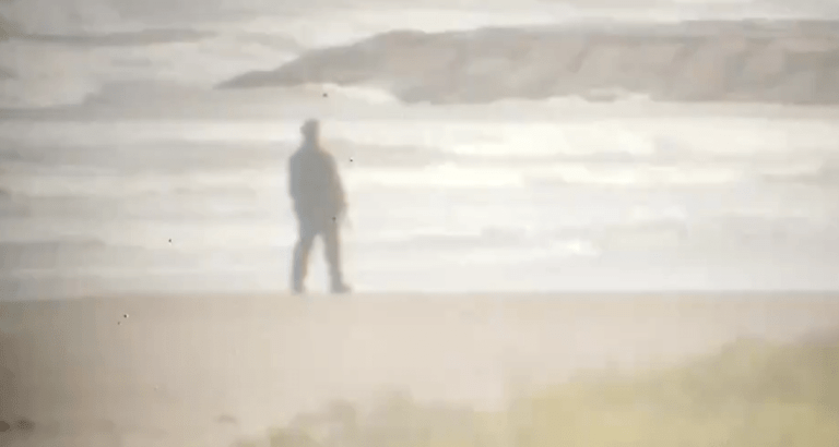 Michael Myers Roams Galveston beach