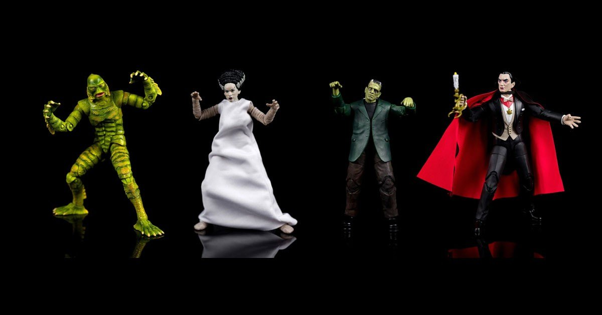 Universal Classic Monsters action figurines will be released by Jada Toys.